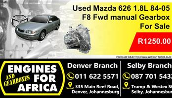 Used Mazda 626 1.8L 84-05 Fwd Manual 5Speed Gearbox For Sale