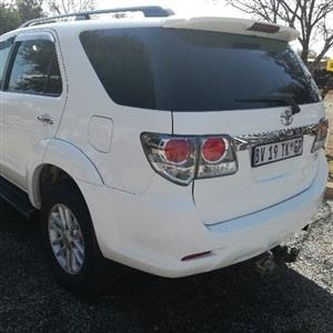2012 Toyota Fortuner 3.0D 4D 4x4