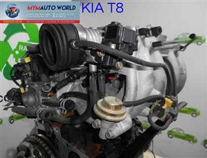 Imported used KIA CLARUS/SHUMA 1.8L 16V T8 engine Complete
