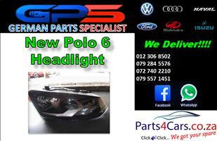 New VW Polo 6 Headlight for Sale