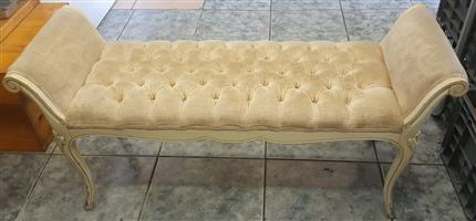Foot end bed bench