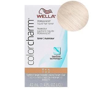 Wella Color Charm Toner - T11 Lightest Beige