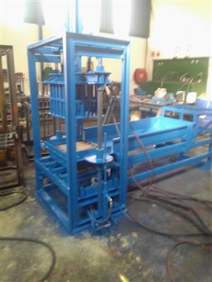 Block, face and paving brick machines manufactured by us.. Please contact us for more details