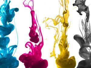 H-INK/C Heatware ▮ Cyan Colour Dye Sublimation Ink 1L Bottle for Inkjet Heat Transfer