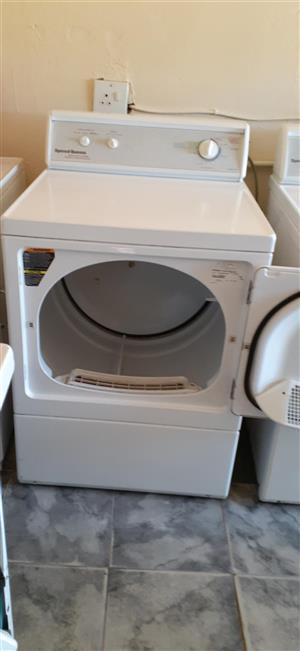 Commercial and domestic speedqueen tumble dryer