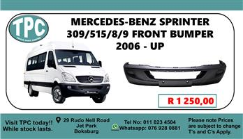 Mercedes-Benz Sprinter 309/515/8/9 Front Bumper 2006 - Up - For Sale at TPC.