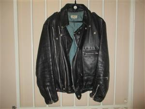 M & S leather jacket