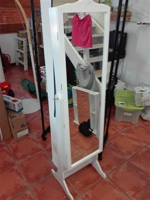 Large white mirror for sale