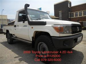 2009 Toyota Land Cruiser 70 series 4.2D