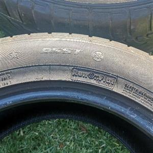 tyres 255 55 18