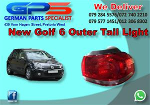 New VW Golf 6 Outer Tail Light for Sale