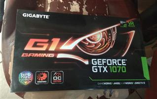 Gigabyte GTX 1070 G1 8GB 1.3 yrs waranty with mustek RGB Goodnesssss