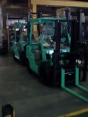 New 2.5t Mitsubishi Forklift