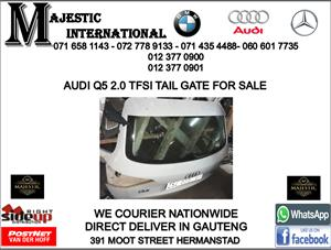 Audi Q5 2.0 TFSI tailgate for sale