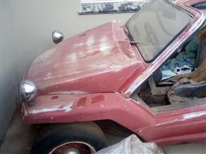 Beach Buggie & VW Beetle (Stripped) - R15,000