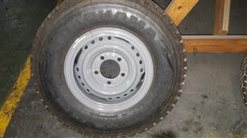 Toyota Land Cruiser Rims + Tyres