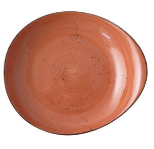 Elements-Rustic-Terracotta Pebble Plate 31 x 28 cm-30PEB231-04-R