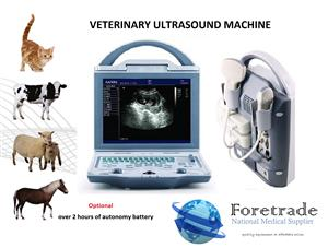 Brand New   Ultrasound Veterinary machine with convex probe R26 499