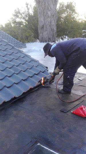 TORCH ON Waterproofing systems.