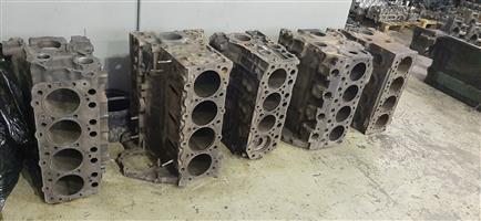 Four cylinder diesel engine blocks for sale!