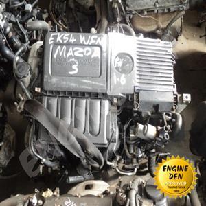 MAZDA 3 1.6L Z6 USED ENGINE