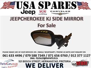 Jeep Cherokee kj side mirror For Sale