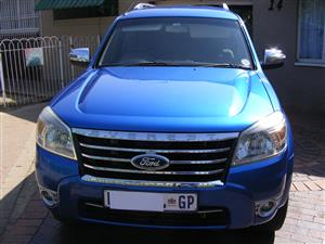 2012 Ford Everest 3.0TDCi 4x4 LTD