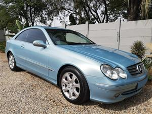 2004 Mercedes Benz CLK 320 coupé Elegance