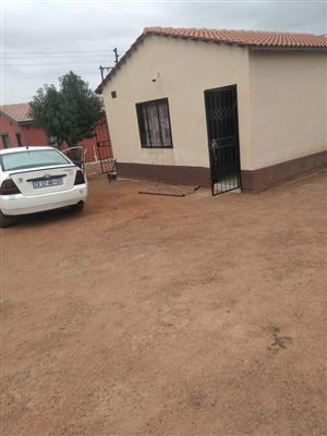 2BEDROOM TO RENT IN MABOPANE SLOVO
