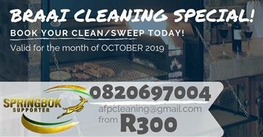 Braai Cleaning Special - From R300