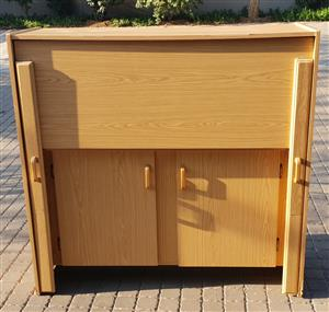 Used Sewing Cabinet with ample storage