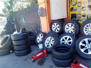 Used/second hand tyres anags,rims