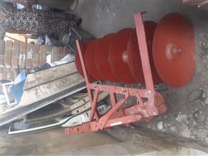 6 Disc plough