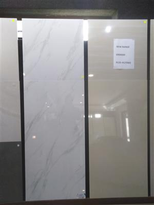 POLISHED AND MATT 600X600 & 600X1200 PORCELAIN TILES.