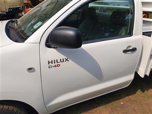 2015 Toyota Hilux single cab HILUX 2.4 GD 6 RB SRX P/U S/C