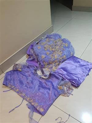 Purple table cloth for sale