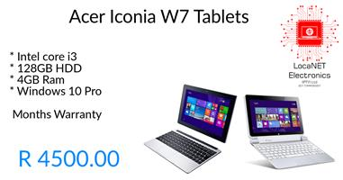 Acer Iconia W7 Tablet
