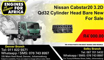 Nissan Cabstar20 3.2D Qd32 Cylinder Head Bare New For Sale.