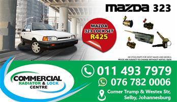 MAZDA 323 HATCHBACK LOCK SETS