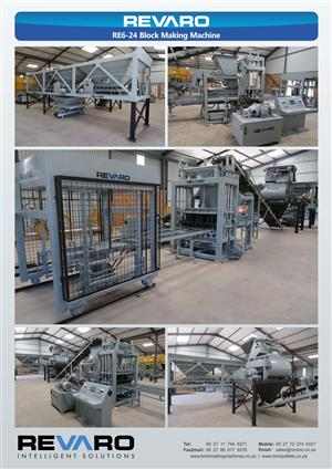 Brick block and paver making machines From small to large Biggest selectio