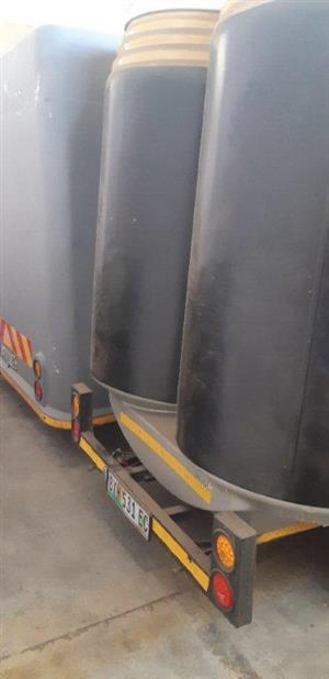 2x Fibreglass Mobi Can Shop Trailers For Sale (Urgent Sale)...... Make an Offer