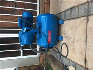 Speroni booster/ pressure pump