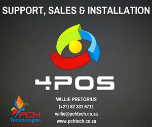 4POS SUPPORT, SALES & INSTALLATION