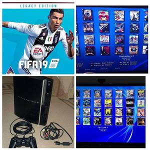 Ps3 150gb 25 games 1 remote