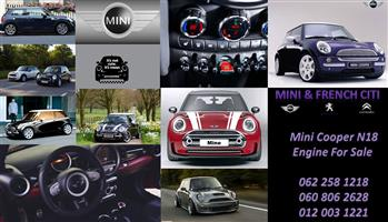 Mini Cooper R56 ZN18 1.6 Engine For Sale
