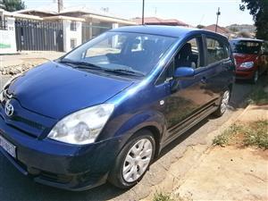 2007 Toyota Corolla Verso 160