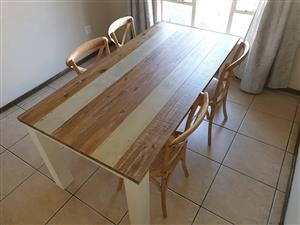 Coricraft Dining Room with 4 chairs for sale