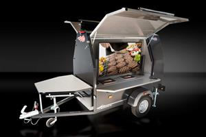 SFT BBQ Grill Trailer Solution