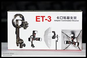 Jinbei ET-3 Adapter Commutator Bracket