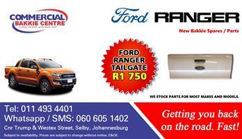 ford ranger tailgate